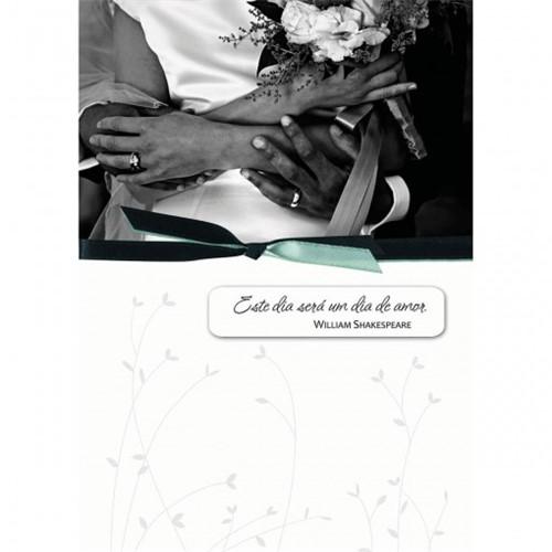 Cartão Handmade Beauty Casamento Estampa Dia de Amor - Grafon's