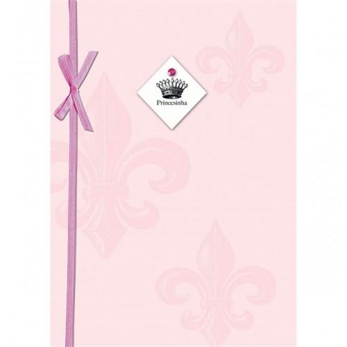 Cartão Handmade Beauty Nascimento Estampa Princesinha - Grafon's