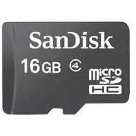 Cartão Micro Sd 16gb Classe 4 + Adaptador Sdsdqm16gbb35a - Sandisk