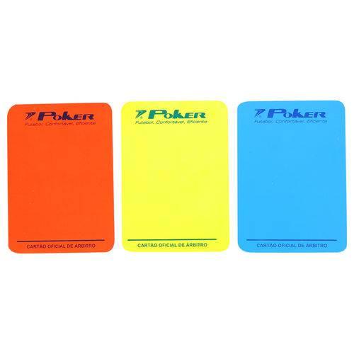 Cartão Poker Futsal Arbitro Oficial