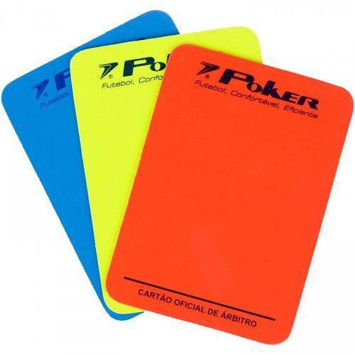 Cartão Poker Oficial Arbitro Futsal