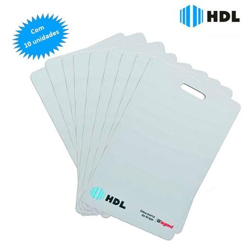 Cartão RFID 125KHz com 10 Unidades 90.02.01.104 - HDL