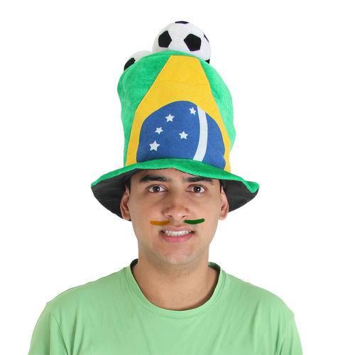 Cartola Brasil 3 Bolas - Copa do Mundo