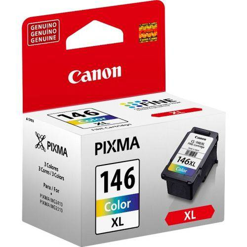 Cartucho Canon de Tinta Colorida CL 146 XL