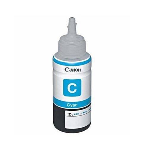 Cartucho Canon Refil de Tinta Ciano Gi190c G1100 2100 310