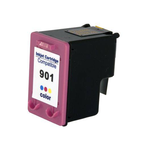Cartucho Compativel Hp 901 Color Cc656ab J4550 J4580 J4660