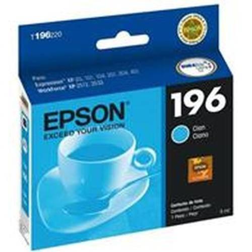 Cartucho de Tinta Epson 196 Ciano T196220