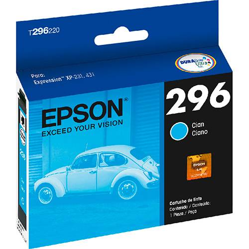 Cartucho de Tinta Epson Ciano T296220