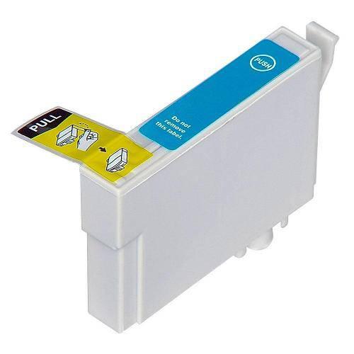 Cartucho de Tinta Epson T1330 T133 T133 Ciano | Tx133 Tx15 T5 Tx13 Tx135 | Compatível 13 Ml