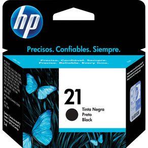 Cartucho de Tinta HP 21 C9351AB Preto