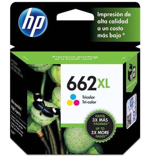 Cartucho de Tinta Hp 662 Color Compatível Multilaser