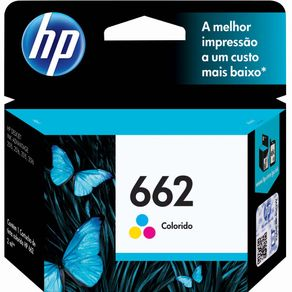 Cartucho de Tinta HP 662 CZ104AB Tri-Color