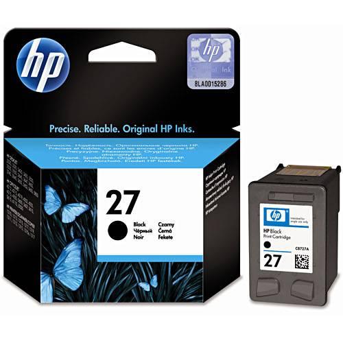 Cartucho de Tinta HP 27 Preto C8727AB - Original