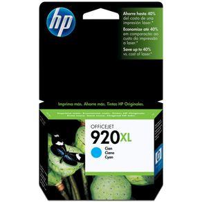 Cartucho de Tinta HP 920XL CD972AL 7,5ml Ciano