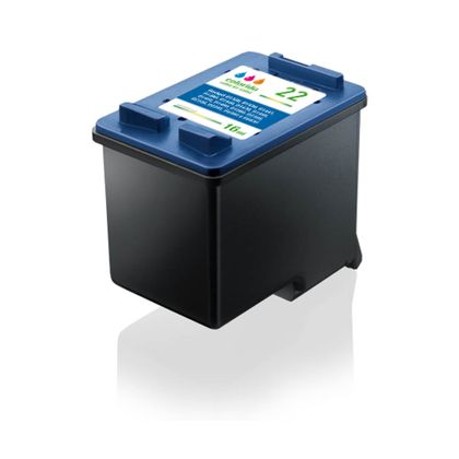 Cartucho de Tinta Hp 22 Color Compativel Multilaser - CO022 CO022