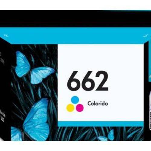 Cartucho de Tinta Hp N 662 Tricolor - CZ104AB