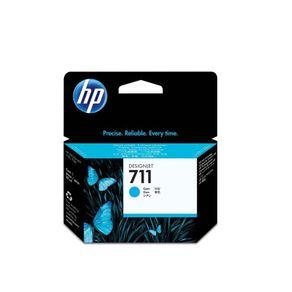 Cartucho de Tinta Plotter HP CZ130AB HP 711 Ciano 29ml