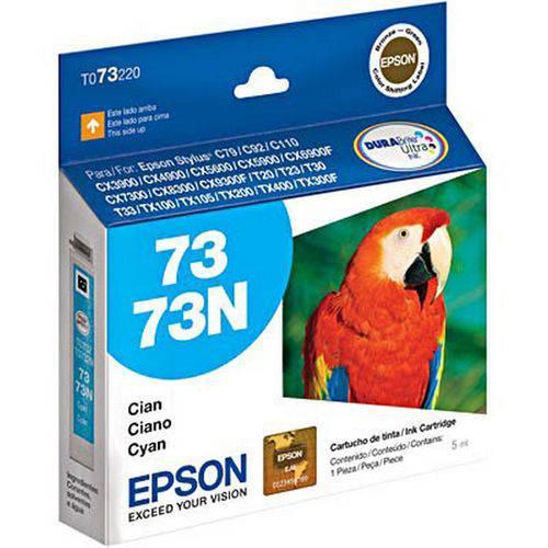 Cartucho de Tinta To73220 (73/73n) Ciano Epson