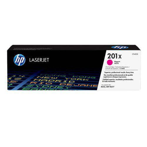 Cartucho de Toner HP LaserJet 201X Magenta Alto Re