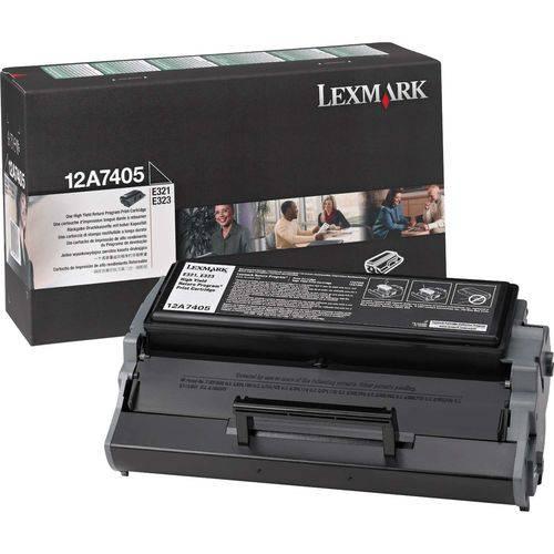 Cartucho de Toner Orig.lexmark 12a7405 Preto E321/e323 Lexmark Unidade
