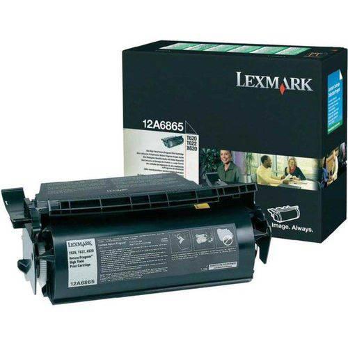 Cartucho de Toner Original Lexmark 12a6865 Lexmark T620 T622 X620 30k