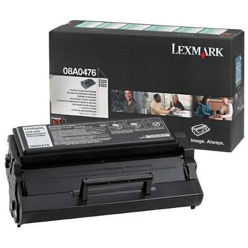 Cartucho de Toner Original Lexmark Optra E320 E322 Lexmark 08a0476