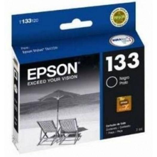 Cartucho Epson 133 T133120 Preto - 7ml