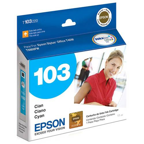 Cartucho Epson 103 Ciano T103220