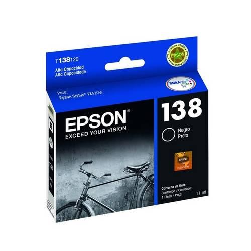 Cartucho Epson 138 Preto T138120-Al