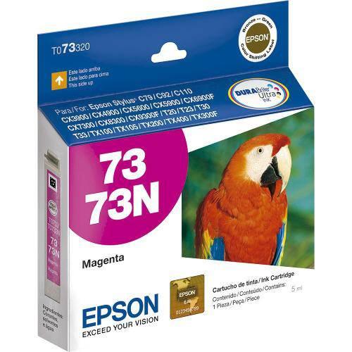 Cartucho Epson 73 Magenta Ref:T073320-Al - Cx5900/Cx6900/Cx7300/Cx8300/Tx220/Tx300f