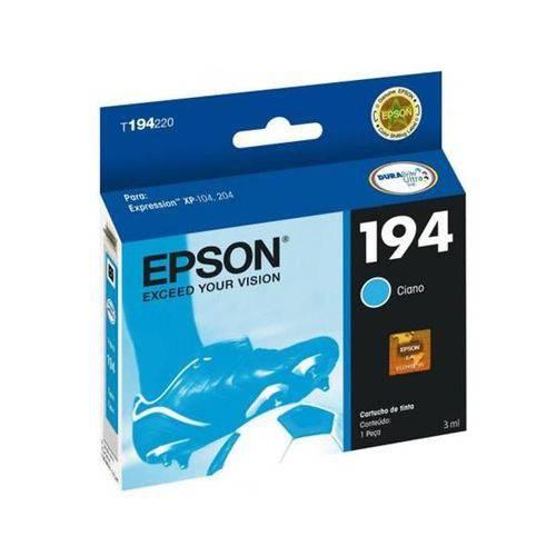 Cartucho Epson Ciano 5ml - T194220-br