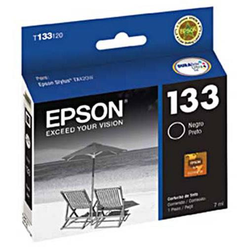 Cartucho Epson Preto 7ml - T133120-br