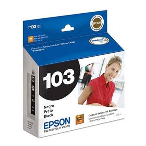 Cartucho Epson T103120 103 Preto 25ml