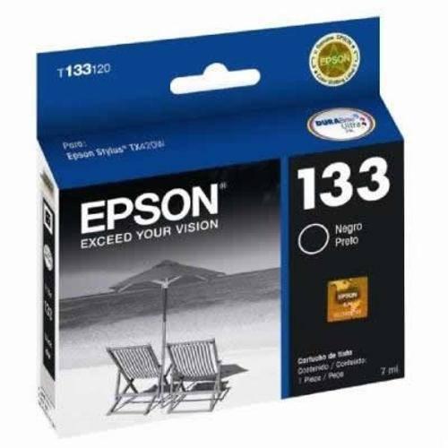Cartucho Epson T133120 Br Preto