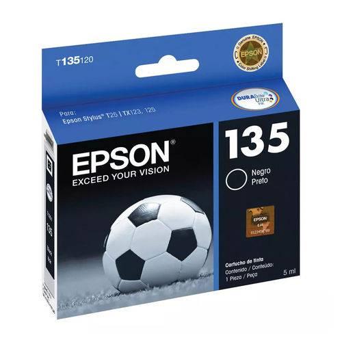 Cartucho Epson T135120 135 Preto 5ml