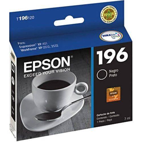 Cartucho Epson T196120 Br Preto