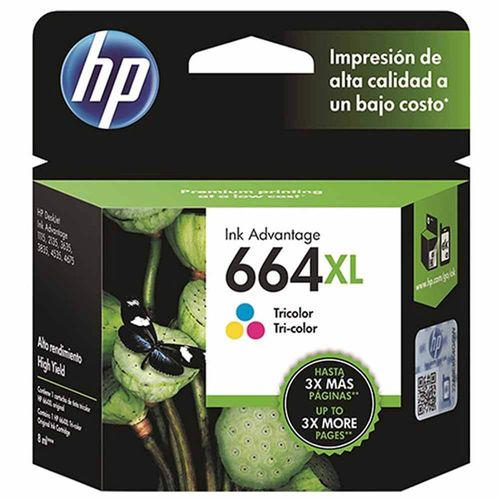 Cartucho Hp 664XL F6V30AB 8ml Colorido 1024752