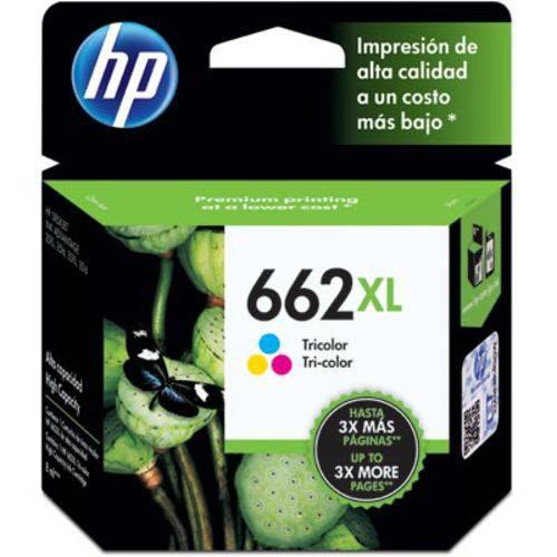 Cartucho Hp 662XL 8 Ml Colorido CZ106AB Hp