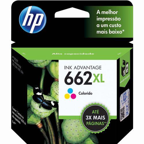 Cartucho Hp 662xl Cz106ab 8ml Colorido 1020853