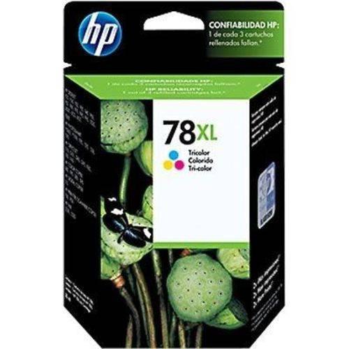 Cartucho HP 78xl Tricolor 38ml C6578AL Original