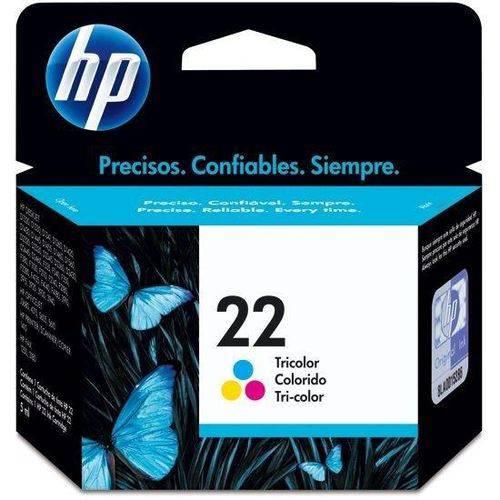 Cartucho HP 22 Tricolor C9352AL Original