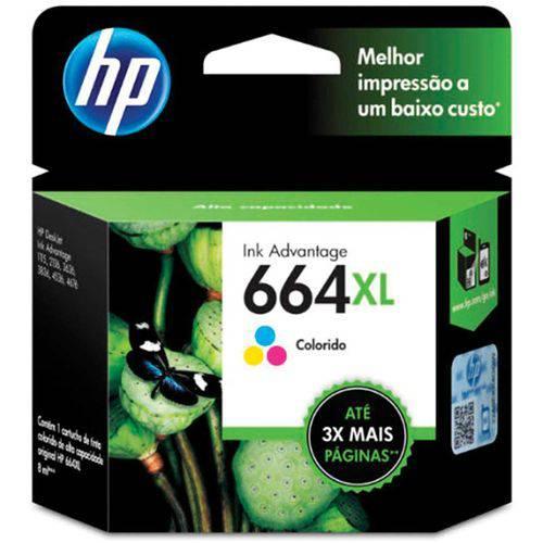 Cartucho Original Hp 664xl Colorido Ink Advantage