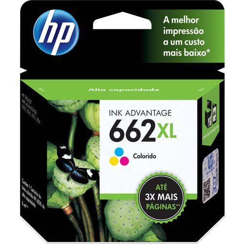 Cartucho Original Hp 662xl Colorido Ink Advantage Hp Unidade