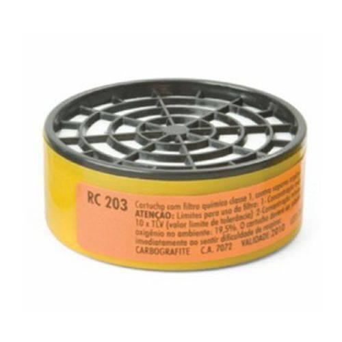 Cartucho RC203 para Máscara Respiratória CG306