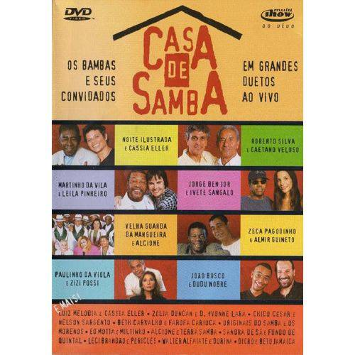 Casa de Samba ao Vivo - Dvd Samba