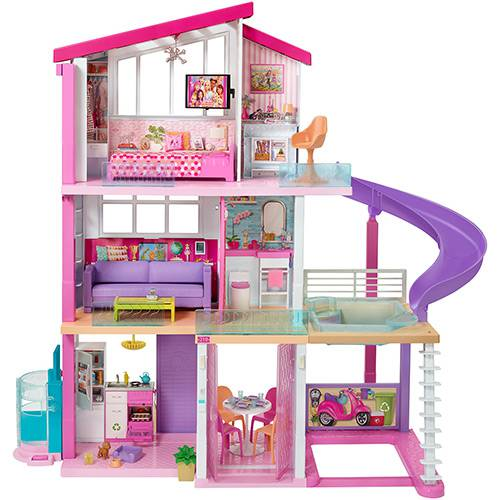 Casa dos Sonhos Barbie FHY73 - Mattel