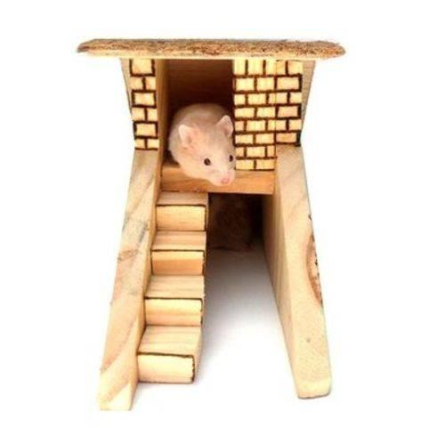 Casa Duplex Cia dos Coelhos Nº 1 para Roedores