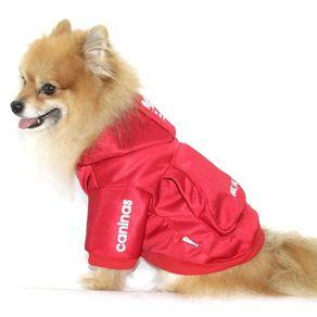 Casaco Caninas Vermelho P