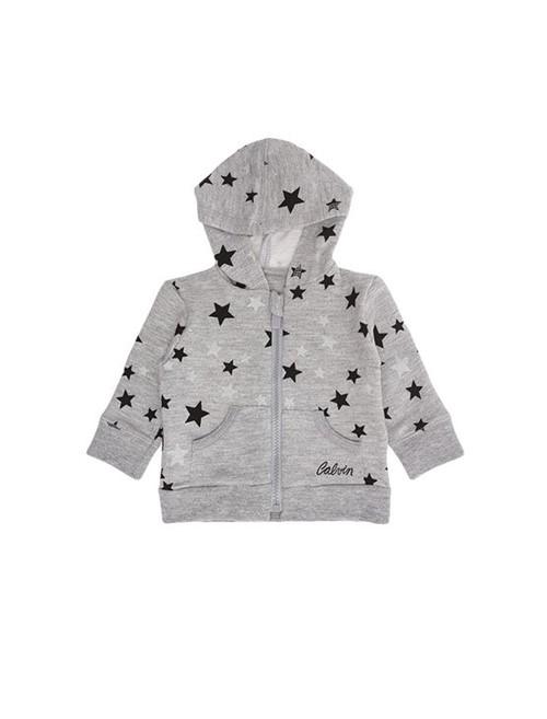 Casaco Infantil Calvin Klein Jeans Estampa Estrelas Mescla - 3M