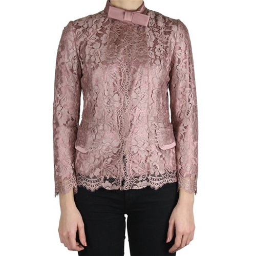 Casaquinho Dolce & Gabbana Renda Rosa